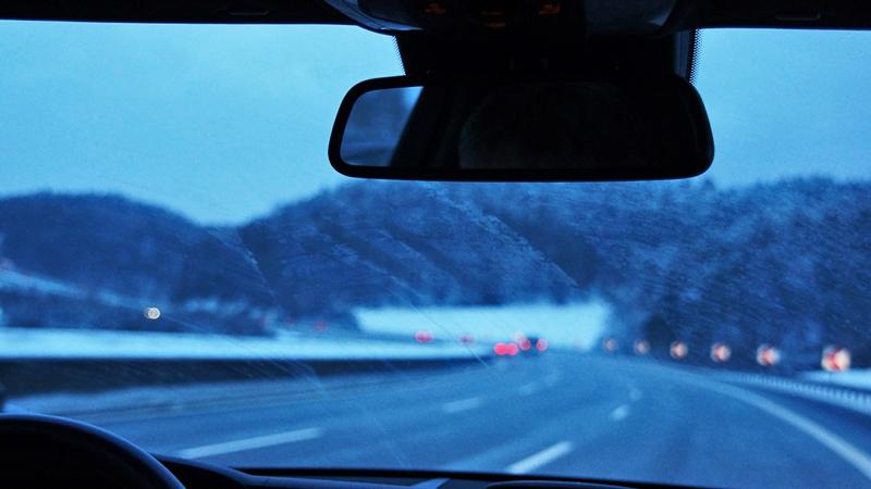 Freie Sicht im Winter!